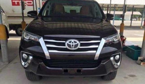 Toyota Fortuner New Model front fascia