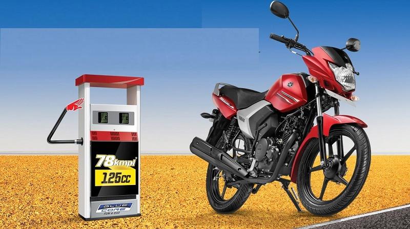 Yamaha Saluto 125cc motorcycle