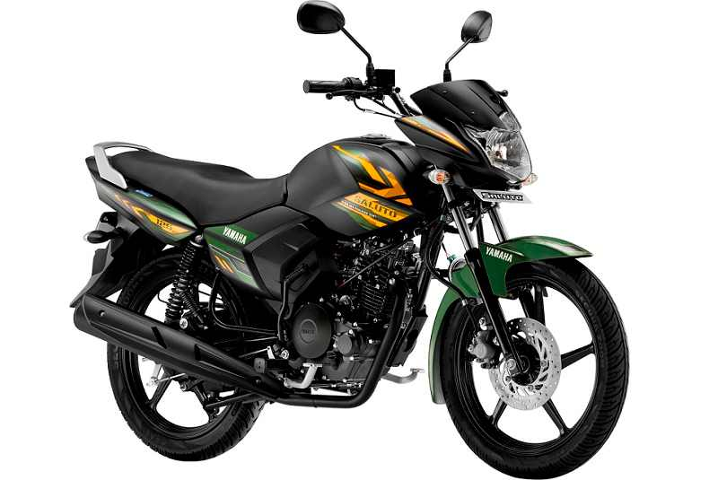 Yamaha Saluto Matt Green Colour