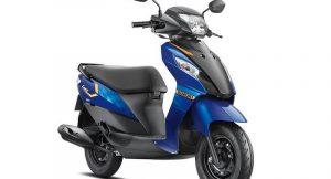 2017 Suzuki Let's Side Profile