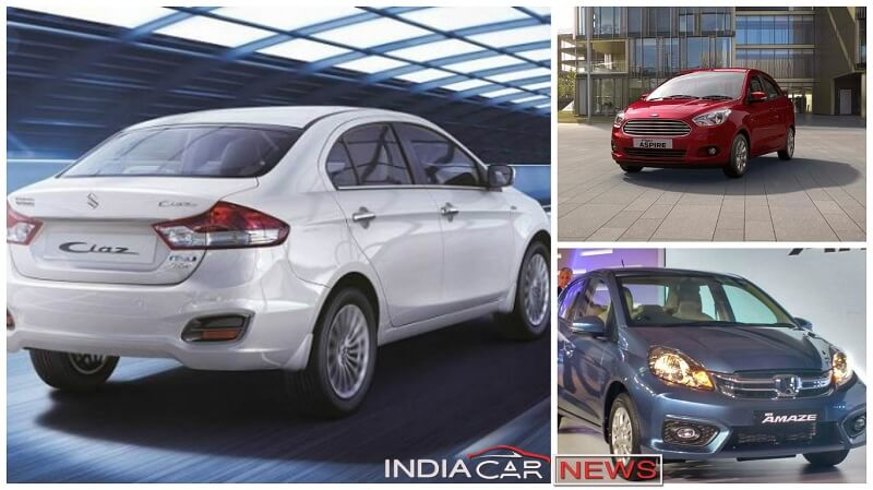Best Mileage Sedan Cars In India In Rs Lakhs Rs Lakhs