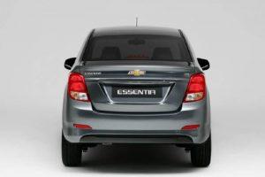 Chevrolet Essentia India rear