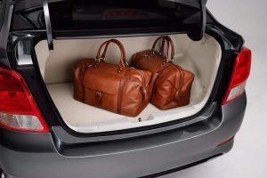 Chevrolet Essentia India boot space