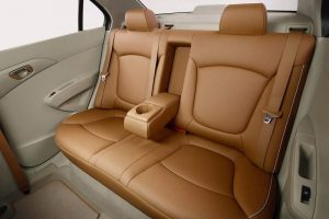 Chevrolet Essentia India seating capacity