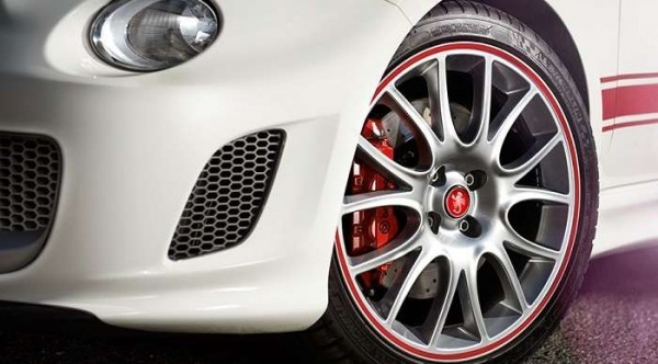 Fiat Abarth 595 alloy wheels