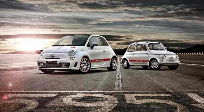Fiat Abarth 595 front-side