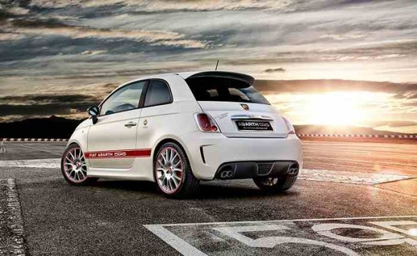 Fiat Abarth 595 rear-side