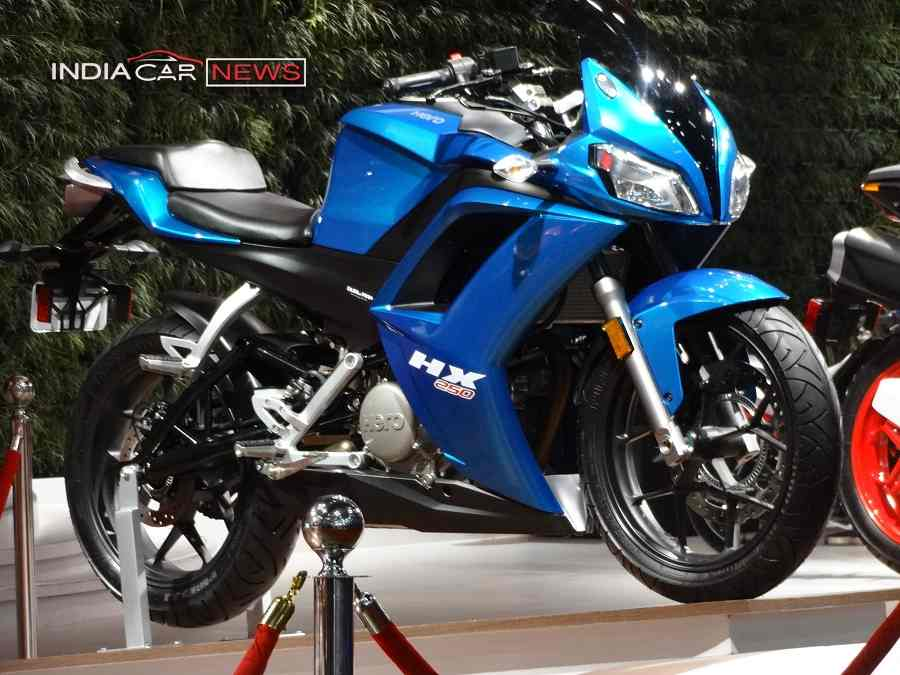 Hero HX250 R side view