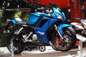 Hero HX250R at auto expo