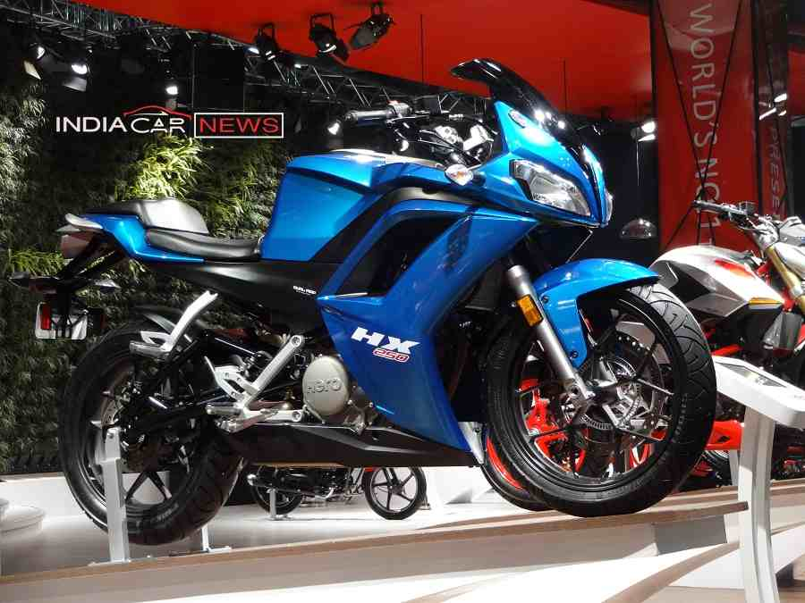 Hero HX250R - Bikes At Auto Expo 2018
