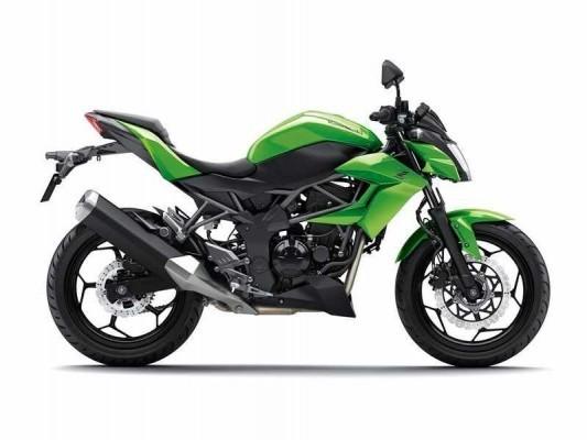 Kawasaki Z250SL Side
