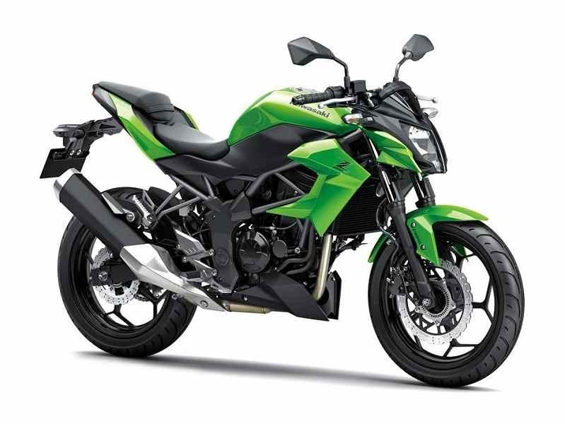 Kawasaki Z250SL front