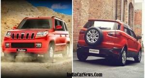 Mahindra TUV300 vs Ford EcoSport