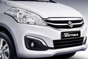 2015 Maruti Ertiga facelift front grille