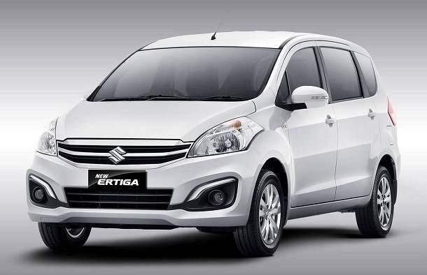 2015 Maruti Ertiga facelift front.