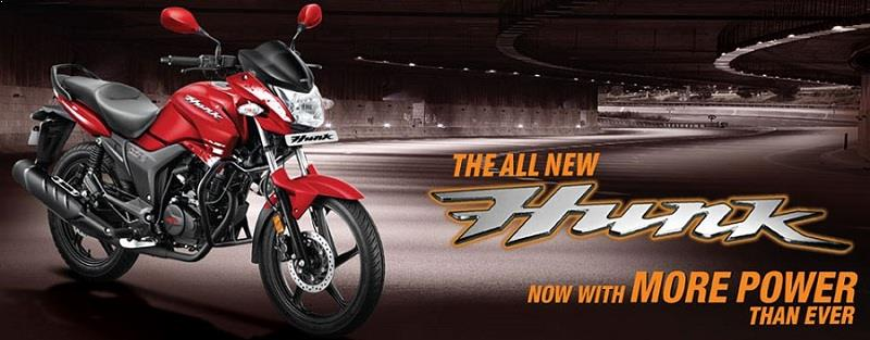 New Hero Hunk 2016 Facelift Launch Price Mileage Images