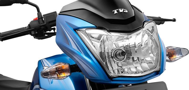TVS Victor 2016 headlamp