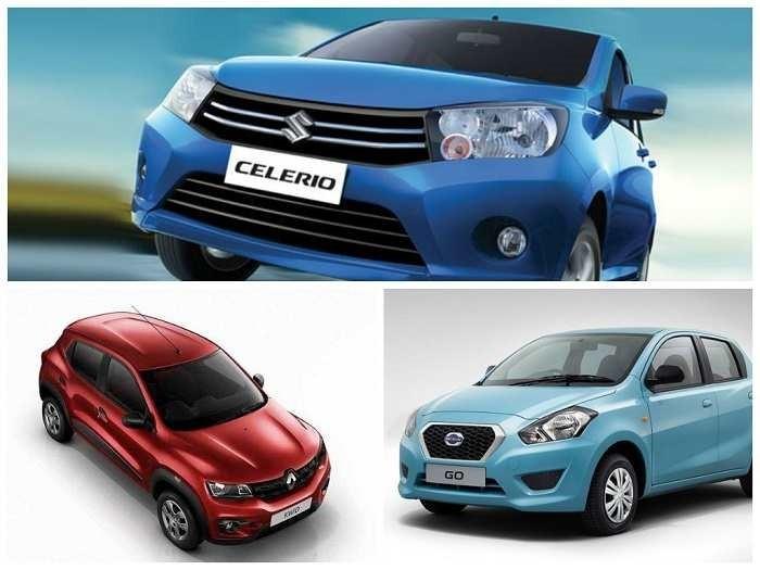 Renault Kwid Vs Datsun Go Vs Maruti Celerio