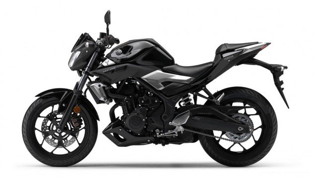 03 >> Yamaha Mt 03 Black Side India Car News