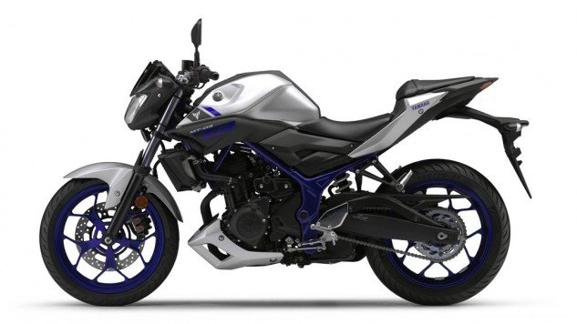 Yamaha-MT-03-Silver Side