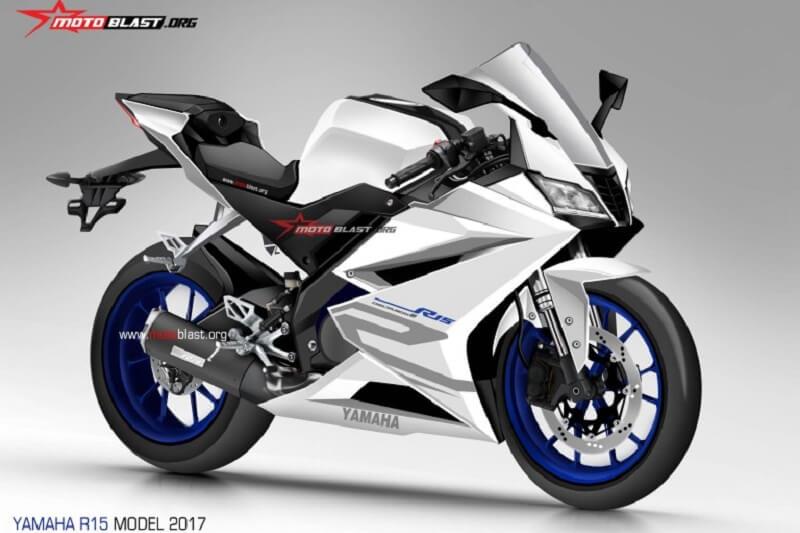 Yamaha YZF R15 V3 Render