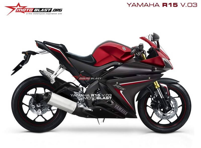 Yamaha yzf r15 v3 price launch specifications mileage for Yamaha r3 mpg