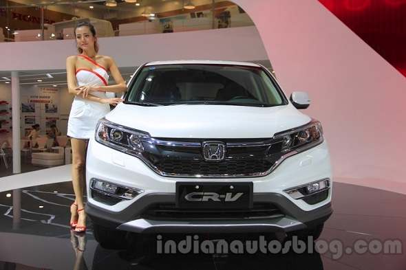 2015 Honda CR-V unveiled