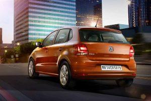 2016 Volkswagen Polo rear