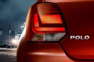 2016 Volkswagen Polo taillight