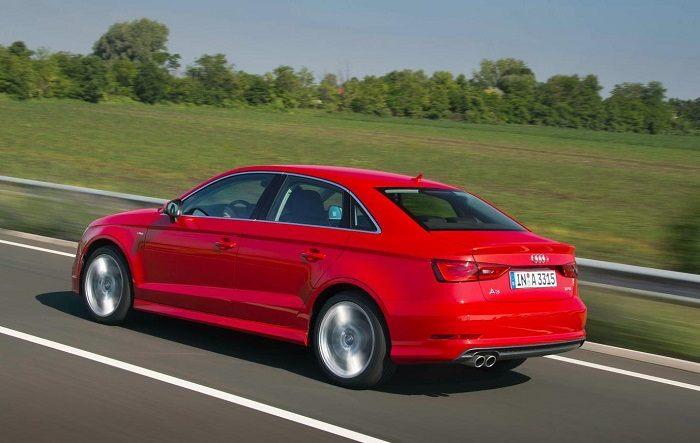 Audi A3 Side-rear