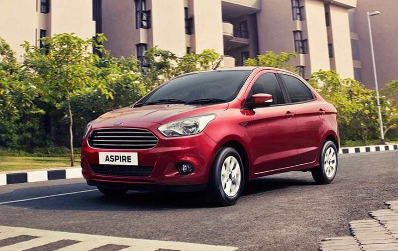 Ford Aspire best mileage sedans in India