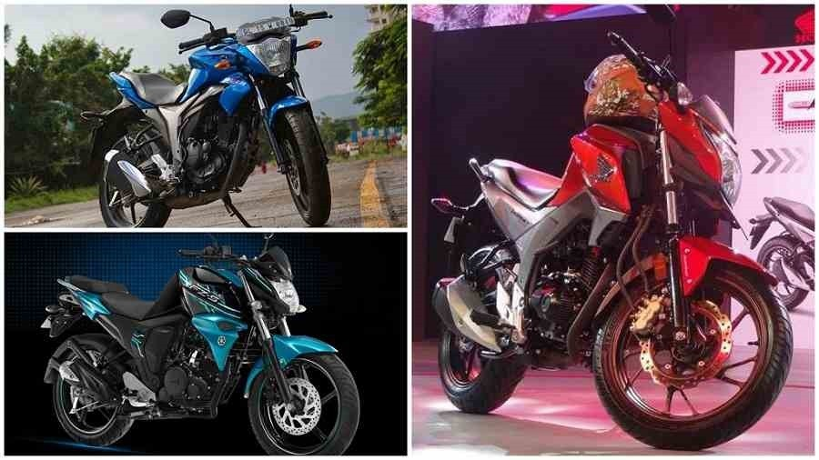 Honda CB Hornet 160R Vs Suzuki Gixxer Vs Yamaha FZ-S