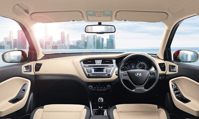 Hyundai Elite i20 Interior Steering Wheel