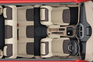 Mahindra TUV300 Seating Capacity