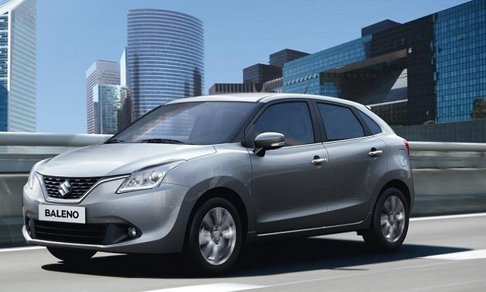 Maruti Suzuki Baleno India side