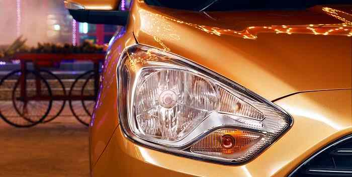 New Ford Figo 2015 headlamp