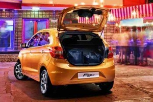 New Ford Figo 2015 rear boot