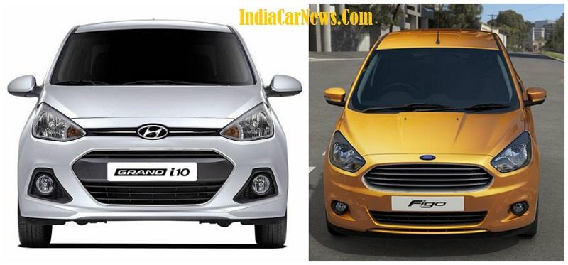 New Ford Figo vs Hyundai Grand i10