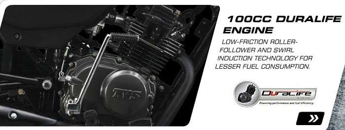 New TVS Sport Engine