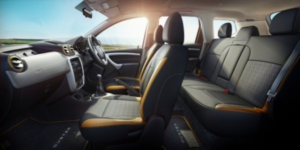 Renault Duster Explore Interior