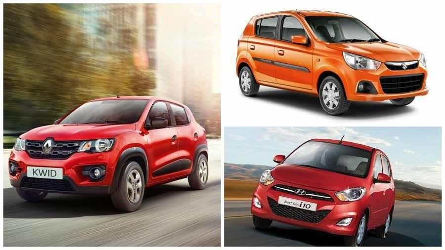 Renault Kwid Vs Maruti Alto K10 Vs Hyundai i10