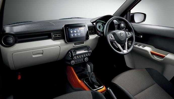 2016 Maruti Suzuki Ignis crossover cabin