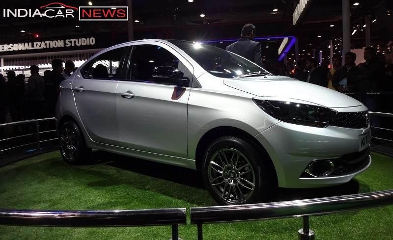 Tata Kite 5 sedan side view