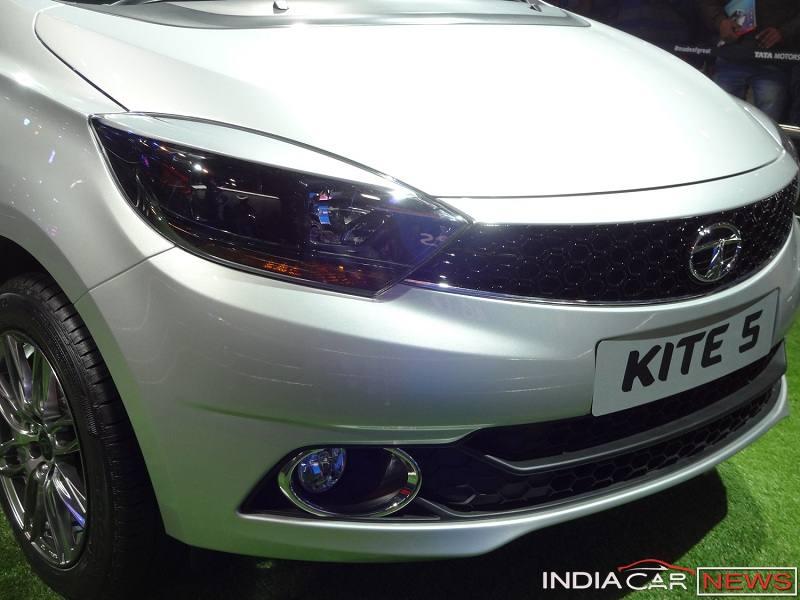Tata Kite 5 sedafront grille