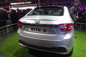 Tata Kite sedan rear