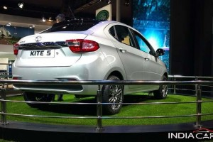 Tata Kite sedan rear side