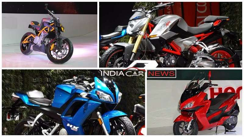 Upcoming Hero Bikes & Scooters in India