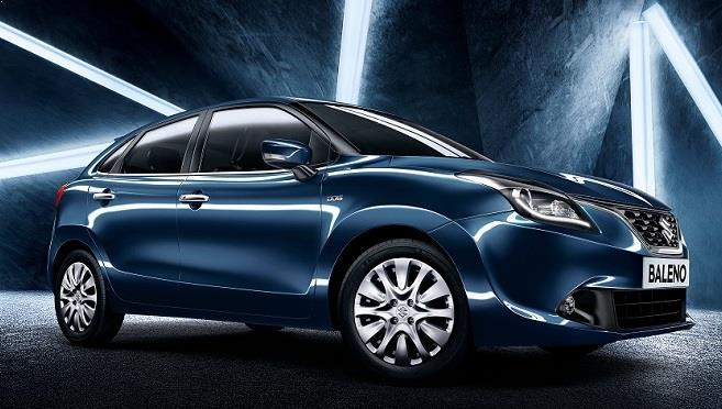 2015 Maruti Baleno Front 3-4th