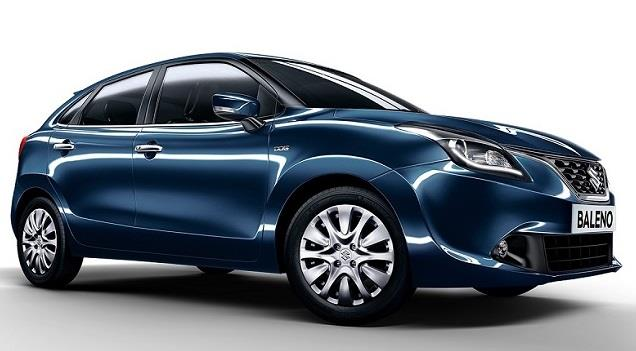 2015 Maruti Baleno Front-Side view