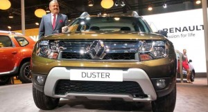 2016 Renault Duster at auto expo